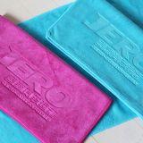 隆利毛巾廠家直銷批發超細毛巾 汽車美容行業超柔吸水壓花毛巾