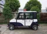 續駛里程遠的電動巡邏車,速度快的四座電動封閉巡邏車