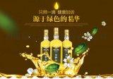 綠達純野生山茶油500mLx2瓶高檔禮盒