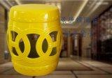 萬業陶瓷推薦家居擺件陶瓷換鞋凳_瓷器凳子批發_景德鎮凳子生產廠家