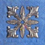 歐世藝鐵花鐵藝衝壓配件批發&A401抽象藝術·方形槍頭裝飾紋