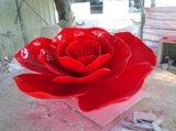 玫瑰花雕塑 廊坊植物雕塑廠家 衡水植物雕塑圖片