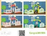 幼兒園遊戲屋兒童玩具屋兒童室內遊樂區娃娃家角櫃區角櫃娃娃屋