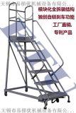 ETU易梯優 移動登高梯 特有自鎖剎車機構 模組化組裝設計 專利產品