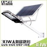 30W金豆太陽能路燈戶外防水led家用新農村道路燈光控感應庭院燈