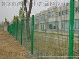 供應雙邊絲護欄網 戶外金屬護欄網 長方形孔圍欄網