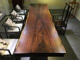 黑檀大板實木傢俱辦公傢俱茶桌會議桌原木大板