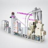 制粉成套機組6FW-P12AB 日產12噸玉米制糝制粉聯產機組