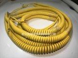 廠家直銷PU/PUR螺旋線彈簧線機械設備螺旋電線 品質保證量大從優