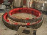 滾筒式1.8米復合肥烘乾機大齒輪託輪