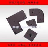 8840 80*80黑色尼龍端蓋 密封件 鋁型材配件 深圳福永廠家供應