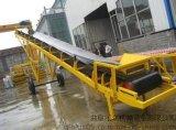 糧食專用輸送機資料  格擋式皮帶機  化肥專用皮帶輸送機