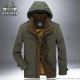 2017年新款古森豹外貿連帽戶外防風大衣 男士外套批發