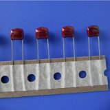 廠家直供金屬化聚酯膜電容器CL21金屬化薄膜電容MEF103J100V LED燈電容