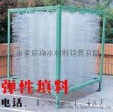 立體彈性填料廢水的厭氧、兼氧、好氧處理