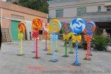 玻璃鋼棒棒糖雕塑,模擬棒棒糖模型擺件,價格絕對讓您滿意