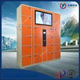 多媒體廣告機智慧寄存櫃 商超播放視頻廣告儲物櫃