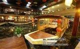殿寶畫舫餐飲船飲食餐廳吃飯船景觀亮化船價格