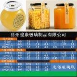 四方扁鼓六棱果醬蜂蜜玻璃瓶子豆腐乳辣椒醬菜食品包裝密封罐