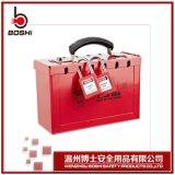 商家熱銷X01 X02攜帶型集羣鎖箱帶孔鎖具箱安全鎖具管理箱