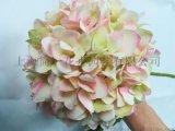 設計師的花模擬繡球花 單支繡球婚慶繡球 模擬花絹花拱門路引花家居裝飾花