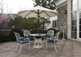 供應 戶外庭院鑄鋁桌 一桌四椅 鑄鋁長桌椅