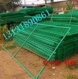 浸塑綠色護欄網雙邊絲護欄網 框架護欄網350絲