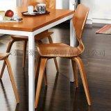 M&C北歐宜家實木餐椅PC-310