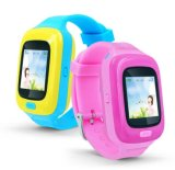 芒果X6防水兒童定位電話手錶超長待機大彩屏廠家直銷