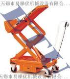 ETU易梯優,移動式可傾斜平臺車 傾斜45度電動液壓升降平臺車