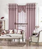 餐廳窗簾 中式家庭餐廳卷簾窗簾 奢華歐式窗簾