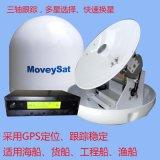 船載衛星電視天線YM-450PM,全球通用,多星跟蹤