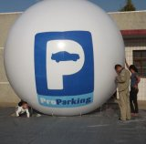 華亦盛大型充氣圓形廣告氣球