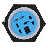 多功能USB充電插座支持快衝