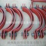 廠家現貨銷售管道管夾 電廠標準D3型雙螺栓基準型管夾