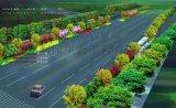 遵義公園花壇設計包括綠化帶花卉擺放和屋頂花園
