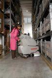 工廠車間超市用Simpla65BT雙盤刷電動手推式洗地機洗地車