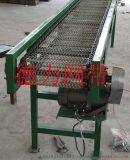 專供不鏽鋼網帶輸送機 爬坡網帶輸送機輸送設備鏈板流水線滾筒轉彎輸送機紙箱