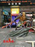 適合網吧裏放的雕塑,網咖雕塑擺件