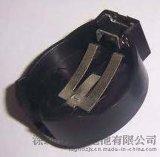 CR2450鈕釦電池座黑色塑膠卡座