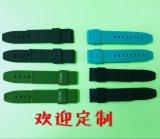 東莞廠家矽膠手錶帶雙色手錶帶矽膠錶帶廠家訂製