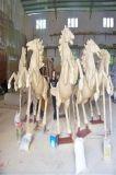 砂岩動物雕塑 砂岩動物馬雕塑 人造砂岩動物馬雕塑廠家