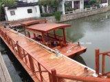 專業生產木船景區溼地公園觀光手劃木船