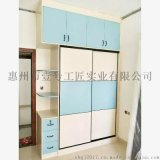 定製多層實木板衣櫃收納櫃