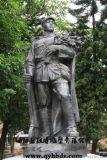 漢博雕塑玻璃鋼鑄銅雕塑革命戰士軍人仿銅雕塑八路軍解放軍仿銅雕塑抗戰 人物銅雕城市雕塑廣場雕塑戶外園林雕塑公園景觀雕塑