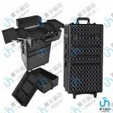 多功能萬向輪拉桿行李箱手提包旅行箱大鋁合金化妝箱
