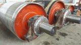 礦用輸送機1.4米耐磨鑄膠傳動滾筒