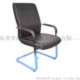 椅哥現代簡約接待椅子時尚PU皮會客椅YG9015