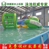 廣州水上樂園設備 充氣泳池 支架泳池 充氣滑梯 廠家直銷