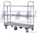專業生產超市貨架倉庫專用U型平板推車|六輪U-BOAT手推車, 大量出口歐美